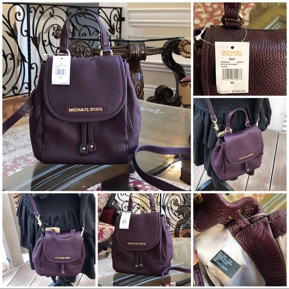 61533ced8d46 Michael Kors Bags | Nwt Riley Small Flap Crossbody | Poshmark